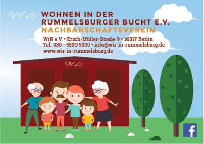 WiR – Wohnen in der Rummelsburger Bucht Nachbarschaftsverein – Imageflyer