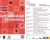 WiR – Wohnen in der Rummelsburger Bucht Nachbarschaftsverein – Stadtteildialoge 2018