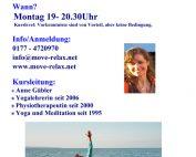 WiR – Wohnen in der Rummelsburger Bucht Nachbarschaftsverein – Hatha-Yoga im Alten Lazarett in Rummelsburg
