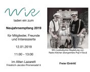 WiR – Wohnen in der Rummelsburger Bucht Nachbarschaftsverein – Neujahrsempfang 2019