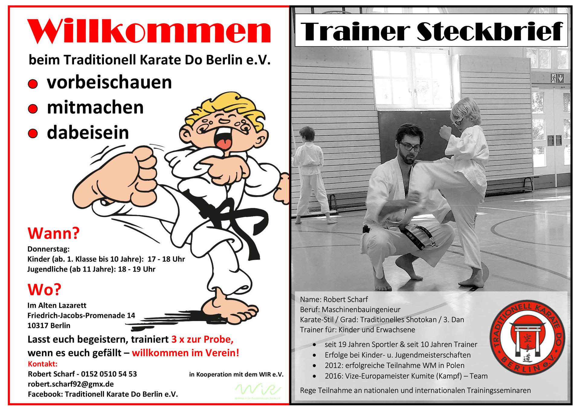 WiR – Wohnen in der Rummelsburger Bucht Nachbarschaftsverein – Traditionelles Karate in der Rummelsburger Bucht