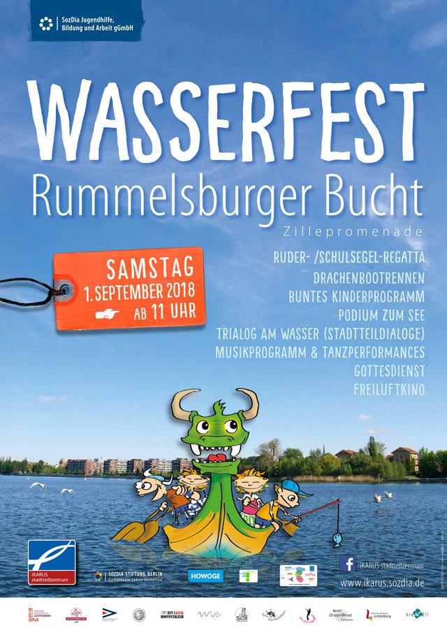 WiR – Wohnen in der Rummelsburger Bucht Nachbarschaftsverein – Wasserfest 2018