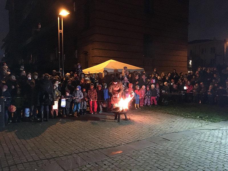 WiR – Wohnen in der Rummelsburger Bucht Nachbarschaftsverein – St. Martinsumzug 2017